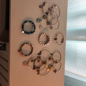 Lot of 16 Alex and Ani Bracelets